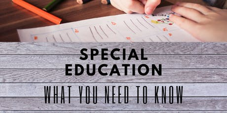 Special Education: What I Need to Know & What is MPACT tickets