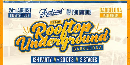 12h Rooftop Underground Barcelona 2a Fase