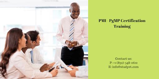 PgMP Classroom Training in Boston, MA