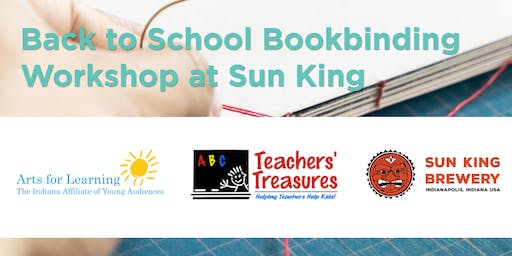 Back to School Bookbinding Workshop at Sun King