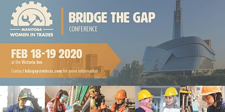 """TEST""-------------------Manitoba Women in Trades Bridge the Gap Conference tickets"