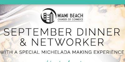 September Networker & Dinner at 222 Taco