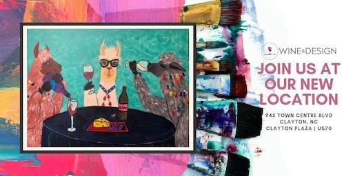Sip + Paint | Wine Llamas