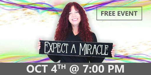 EXPECT A MIRACLE Evening with Rob & Aliss Cresswell - Asheville, NC