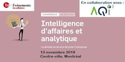 Conférence Intelligence d'affaires et analytique - Événements Les Affaires