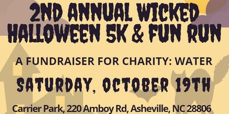 2nd Annual Wicked Halloween 5k & Fun Run - for charity: water tickets