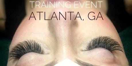 Volume Eyelash Extension Training Pearl Lash Atlanta, GA tickets