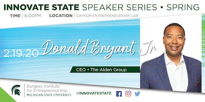 Innovate State, with Donald Bryant, Jr.