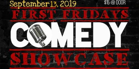 First Fridays Comedy Showcase feat. Johanna Medrana tickets