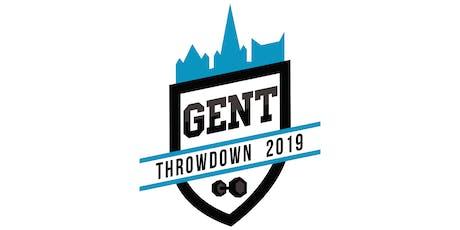 Gent Throwdown 2019 Open Scaled billets