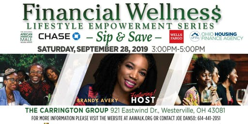 Financial Wellness Lifestyle Empowerment Series - Sip & Save