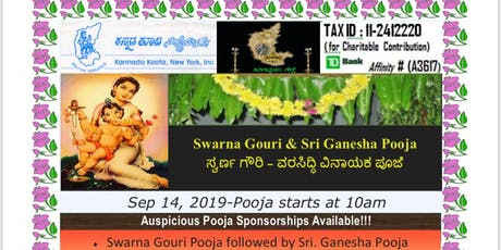 September 14, 2019 Ganesha Habba Celebrations tickets