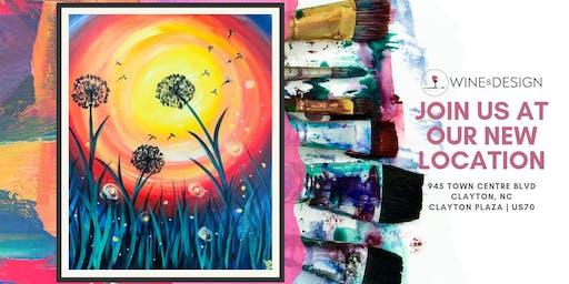 Sip + Paint | Summer Dandelions