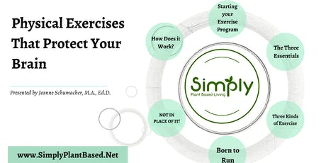 Living WFPB: Physical Exercise Protects the Brain - Lecture /Cooking Demo tickets