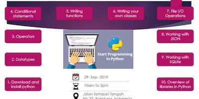 Start Programming in Python