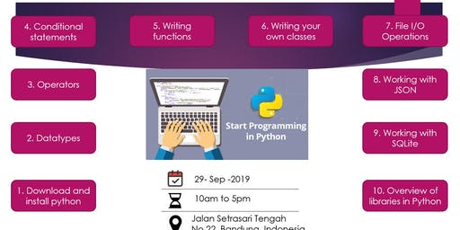 Start Programming in Python
