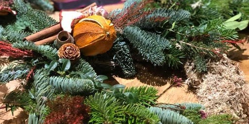 CHRISTMAS WREATH WORKSHOP IN SYDENNHAM
