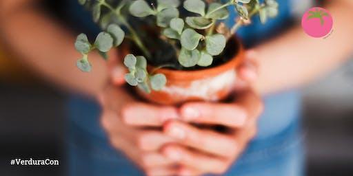 ¡Verdura! Día de conferencias para amantes de las plantas y la jardinería.