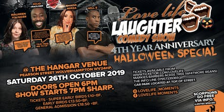 LOVELIFE LAUGHTER HALOWEEN SPECIAL tickets