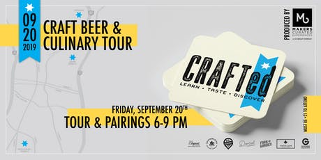 CRAFTed: Craft Beer & Culinary Tour tickets