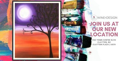 Sip + Paint | Moonlit Tree