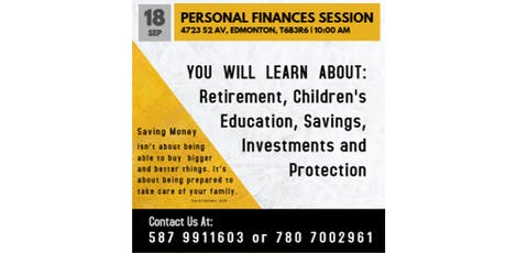 Financial Personal Session tickets
