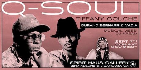 Q Soul  tickets