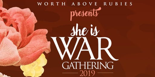 She is WAR Gathering: She Speaks!