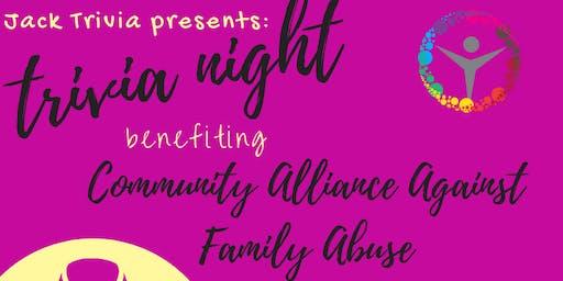Trivia Night!  Domestic Violence Awareness Month