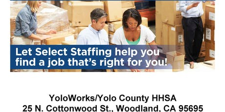 Select Staffing tickets