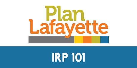 IRP 101 tickets