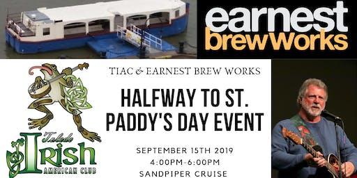 Toledo Irish American Club & Earnest Brew Halfway to St. Paddy's Day Cruise