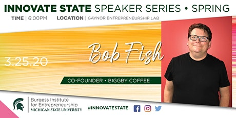 Innovate State, with Bob Fish  tickets