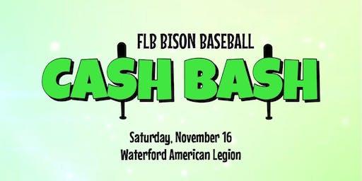 FLB Bison Baseball Cash Bash
