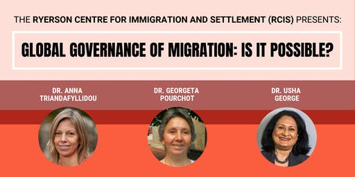 Global Governance of Migration: Is It Possible? (October 3rd, 2019)