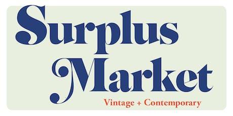 Surplus Market tickets