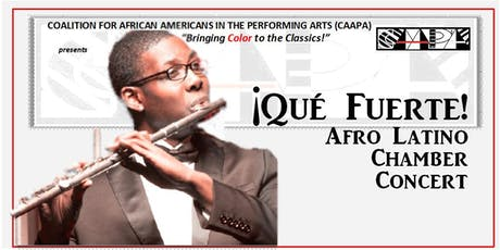 Que Fuerte! Hispanic and Afro Music Concert tickets