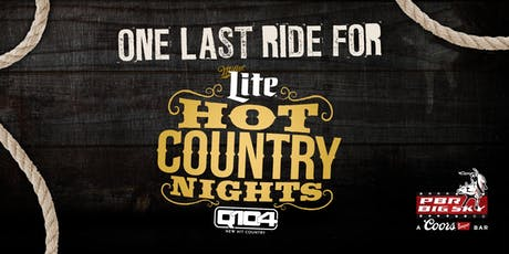 One Last Ride for Hot Country Nights tickets
