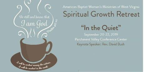 Spiritual Growth Retreat tickets