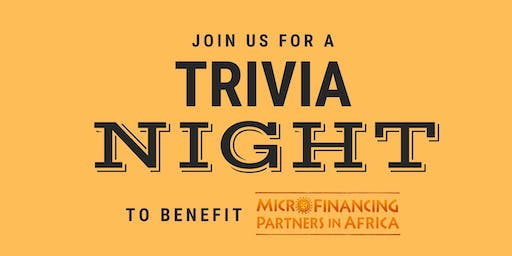 Trivia Night - Supporting MicroFinancing Partners in Africa