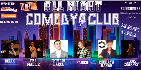All night long comedy club billets