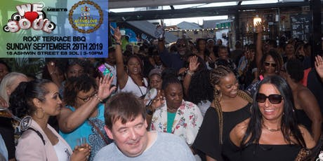 We Love Soul meets ActiveLove Roof Terrace BBQ Ft. Ingrid tickets