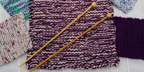 Easy Knitted Shawl tickets