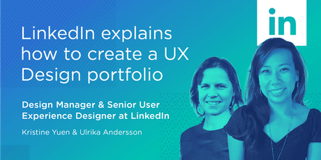 LinkedIn explains how to create a UX Design portfolio billets