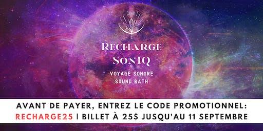 09.12•Recharge SonIQ • Val-David