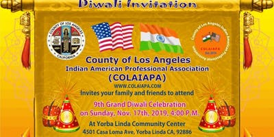 County of Los Angeles - Diwali Party !!