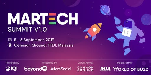 MarTech Summit 2019 (Digital Marketing & Technology Conference & Workshop)