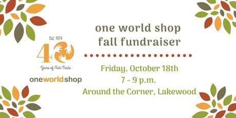 OWS Fall Fundraiser at Around the Corner tickets