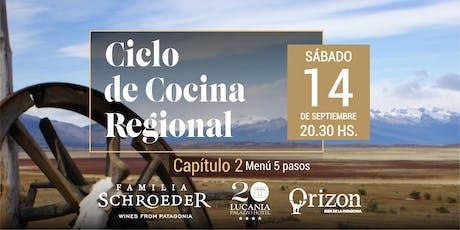 Ciclo de Cocina Regional: Capítulo II entradas