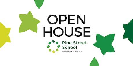 Pine Street School Open House tickets